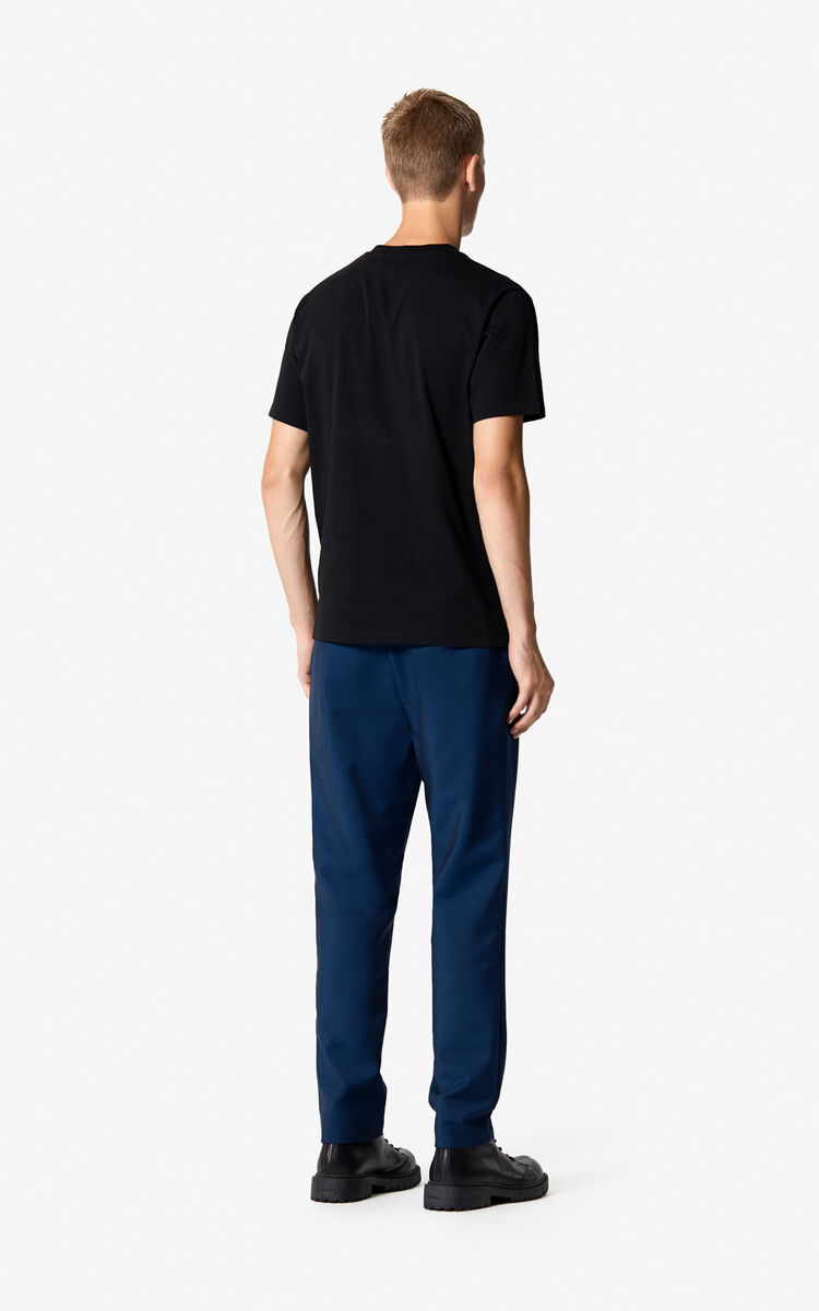 DUCK BLUE Straight-leg trousers 'Holiday Capsule' for women KENZO