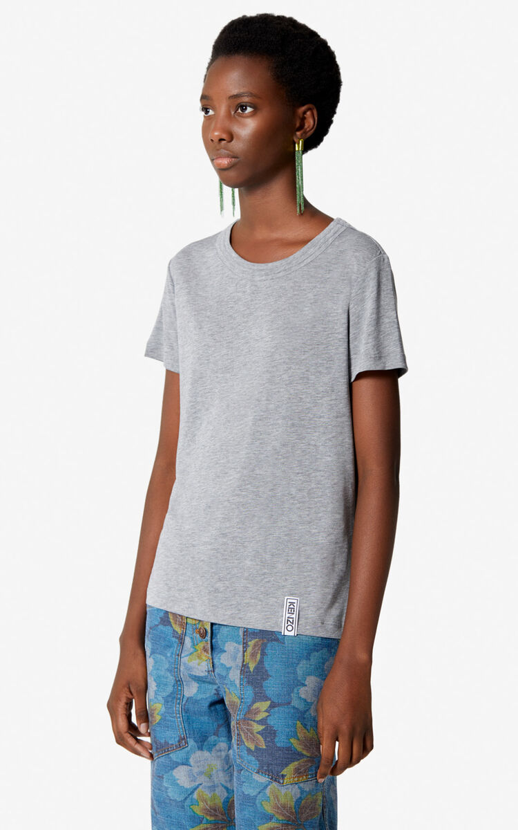 DOVE GREY KENZO Essentials  t-shirt for women