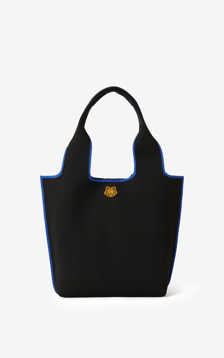 NAVY BLUE KENZO x KANSAIYAMAMOTO small tote bag for unisex