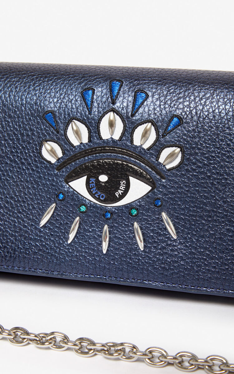 NAVY BLUE 'Holiday Capsule' 2-in-1 Kontact Eye wallet  for unisex KENZO