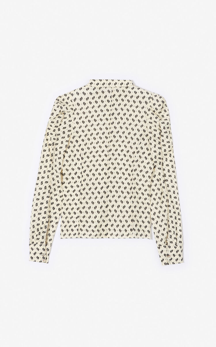 OFF WHITE 'Ikat' shirt for women KENZO