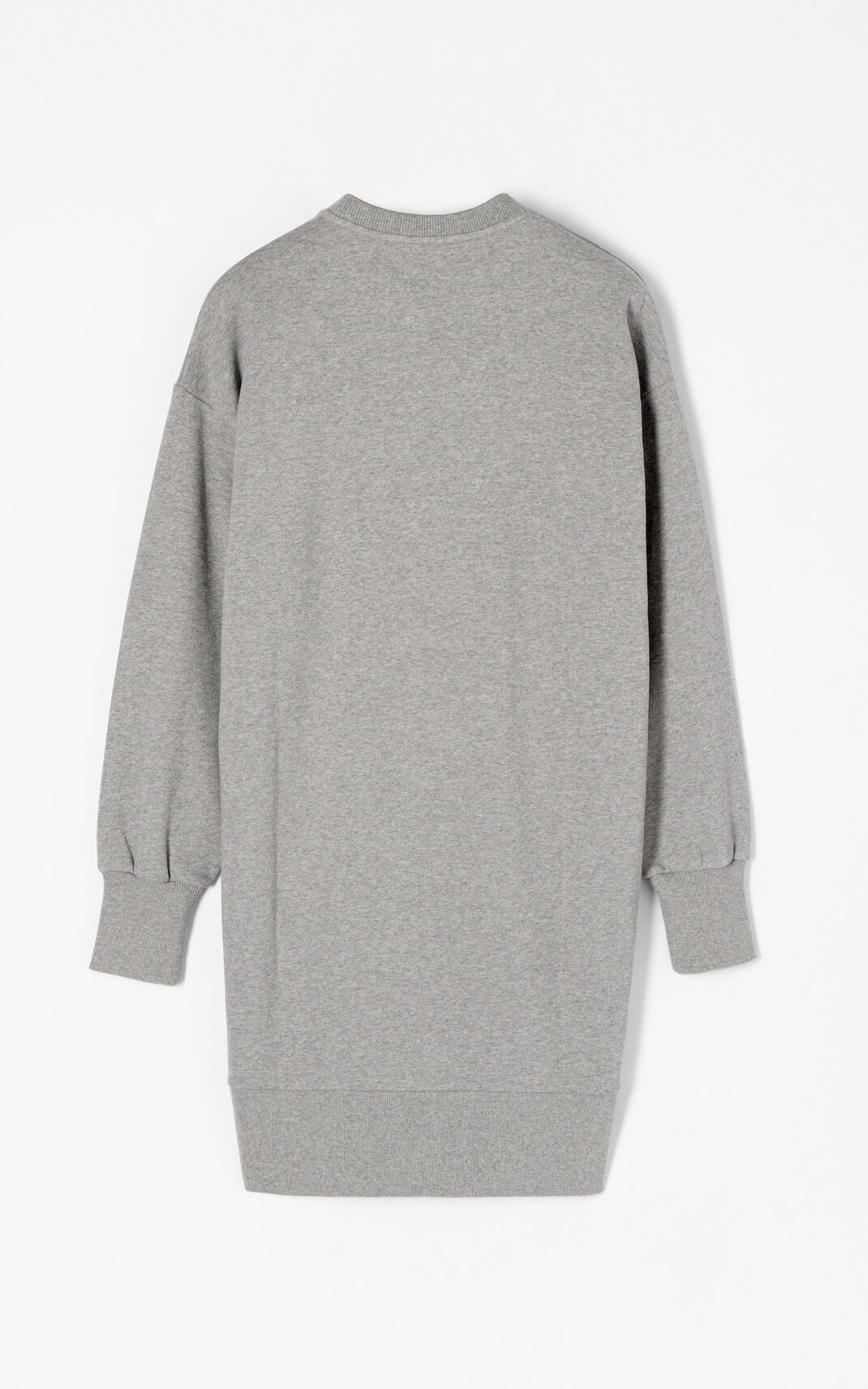DOVE GREY Crane' Sweatshirt Dress for women KENZO