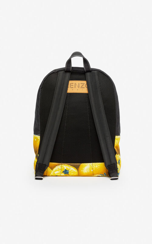 BLACK 'Tomato' backpack for unisex KENZO