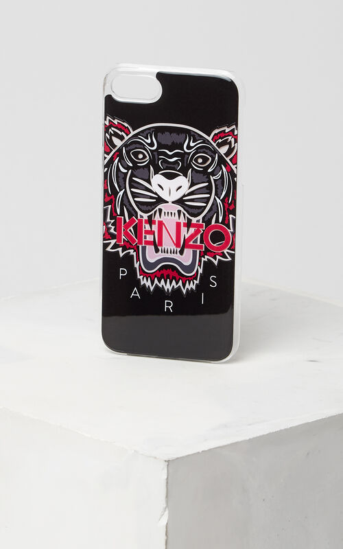 BLACK 3D Tiger iPhone 7+ case for unisex KENZO