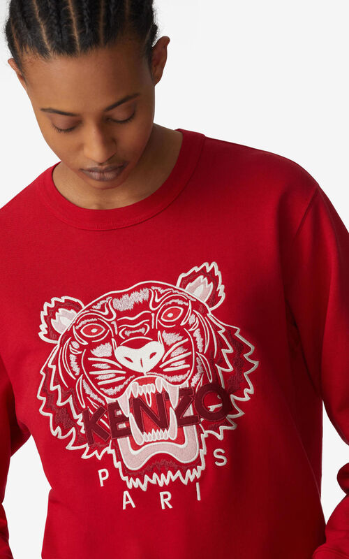 CHERRY Tiger sweatshirt for women KENZO