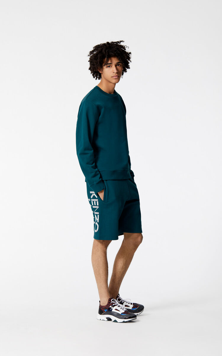 PINE KENZO Logo Shorts for men