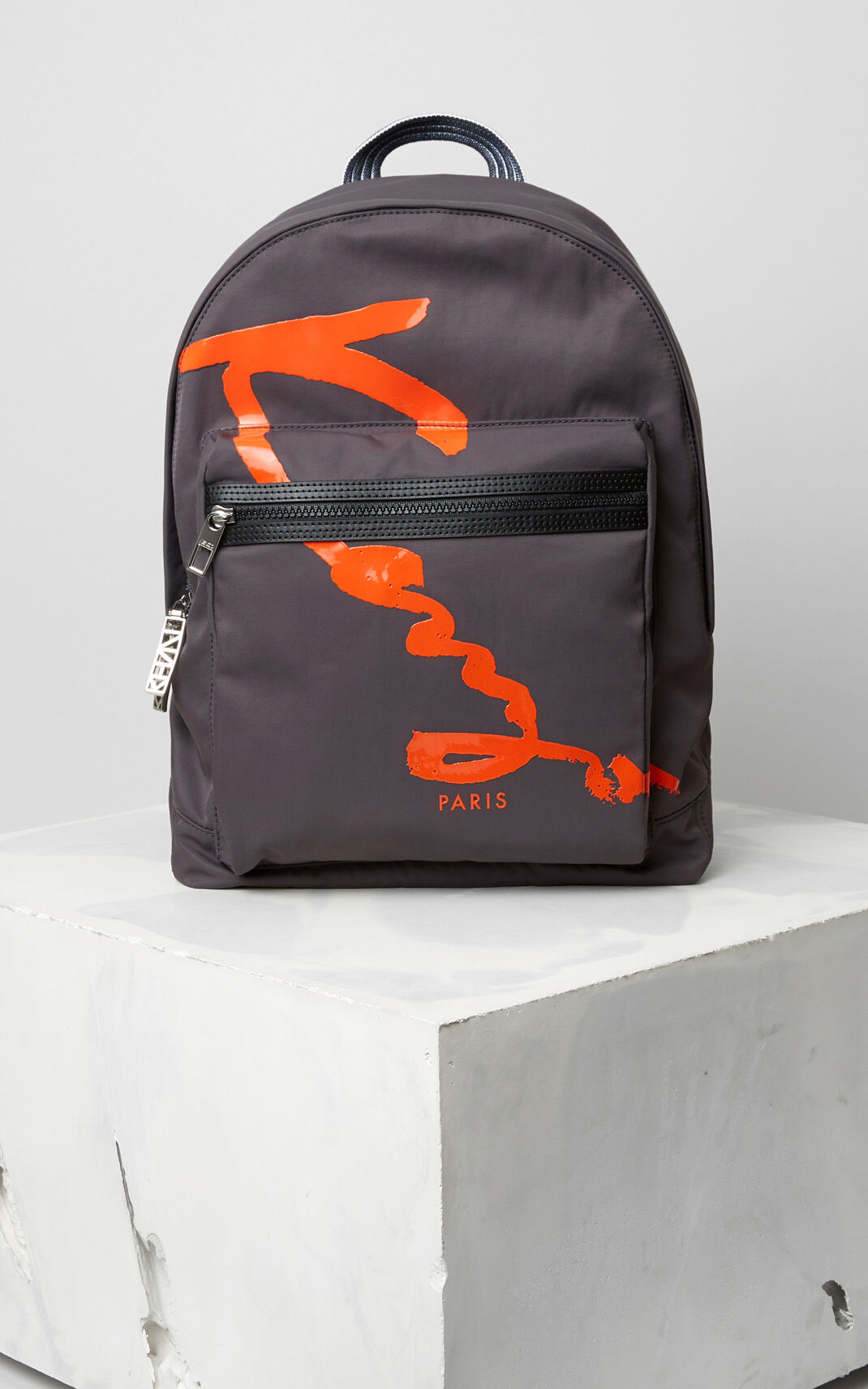 ANTHRACITE Medium KENZO Signature backback for unisex