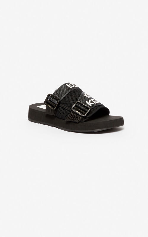 BLACK Papaya mules for women KENZO