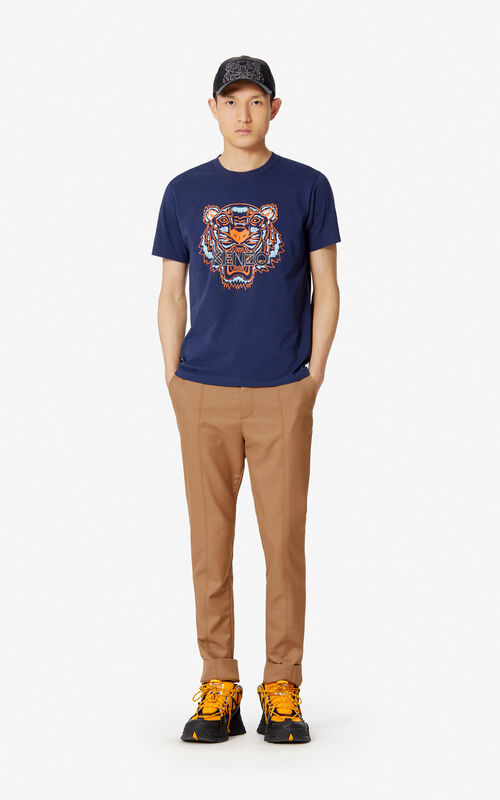 de7c1923eaa02e ... INK Tiger T-shirt for men KENZO