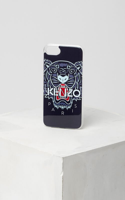NAVY BLUE 3D Tiger iPhone 7 case for unisex KENZO