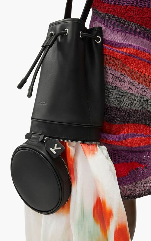 POPPY 'Poppy' tote bag and leather bucket bag for women KENZO