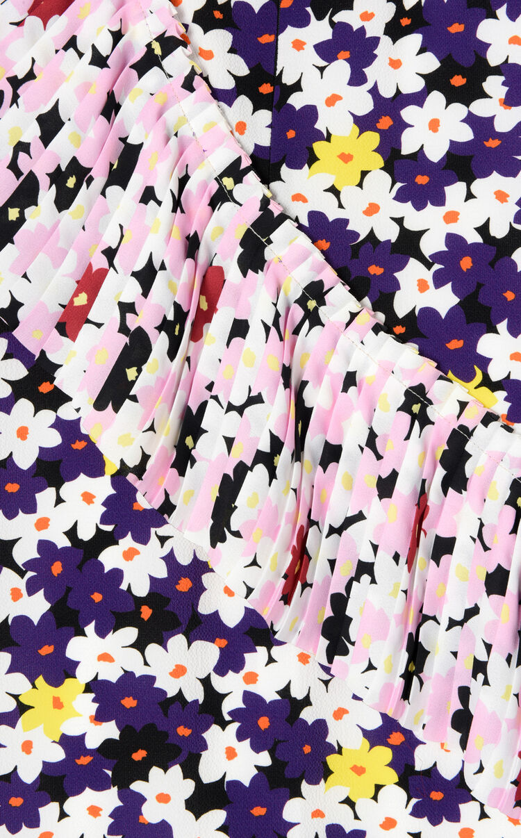 BRIGHT PURPLE 'Jackie flower' dress for women KENZO