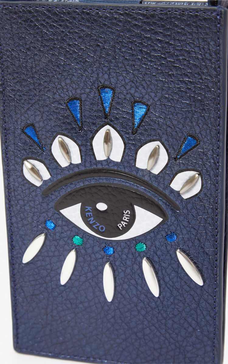 NAVY BLUE 'Holiday Capsule' Kontact Eye telephone case for unisex KENZO