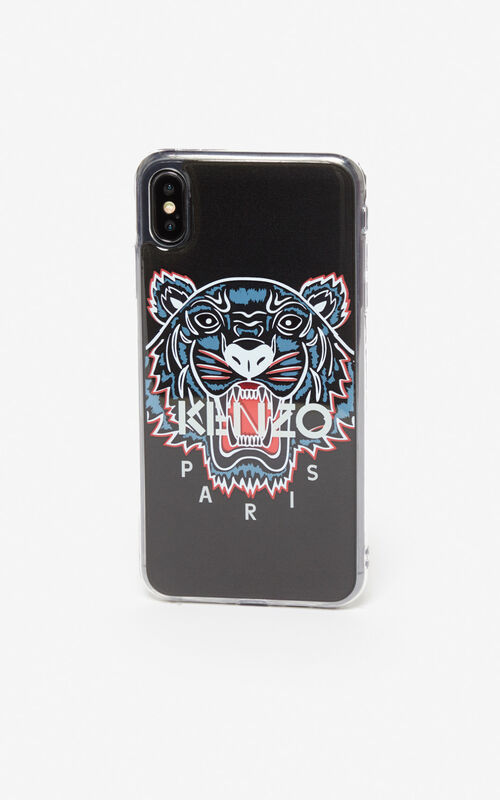 BLACK iPhone XS Max Tiger case for unisex KENZO