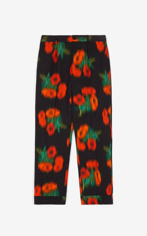 CHERRY 'Coquelicot' trousers for unisex KENZO