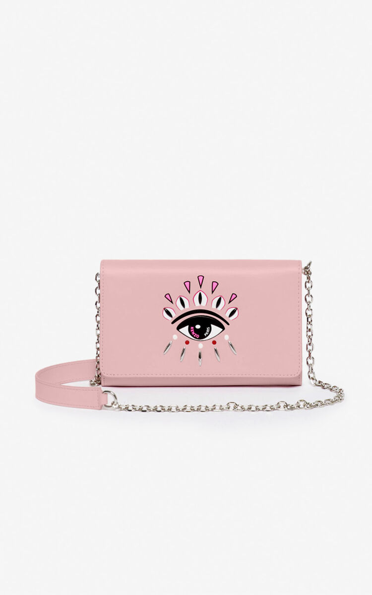 PASTEL PINK Kontact Eye 2-in-1 wallet for unisex KENZO