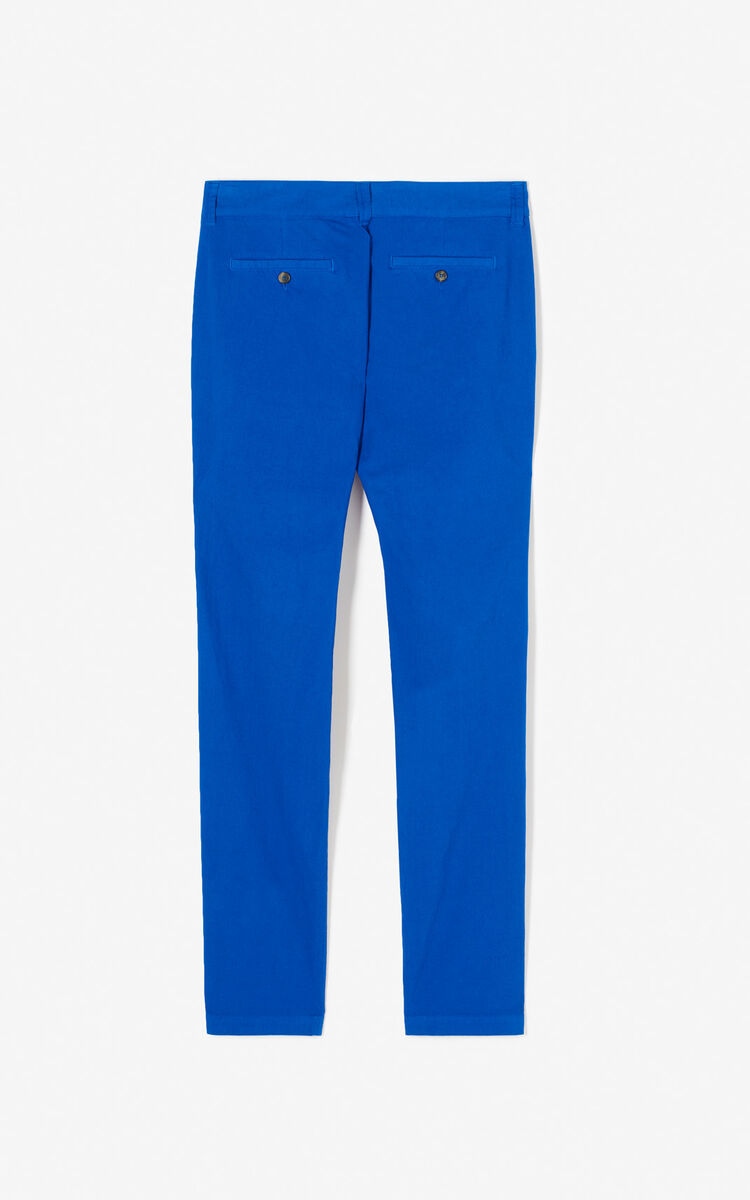 FRENCH BLUE Chinos for women KENZO