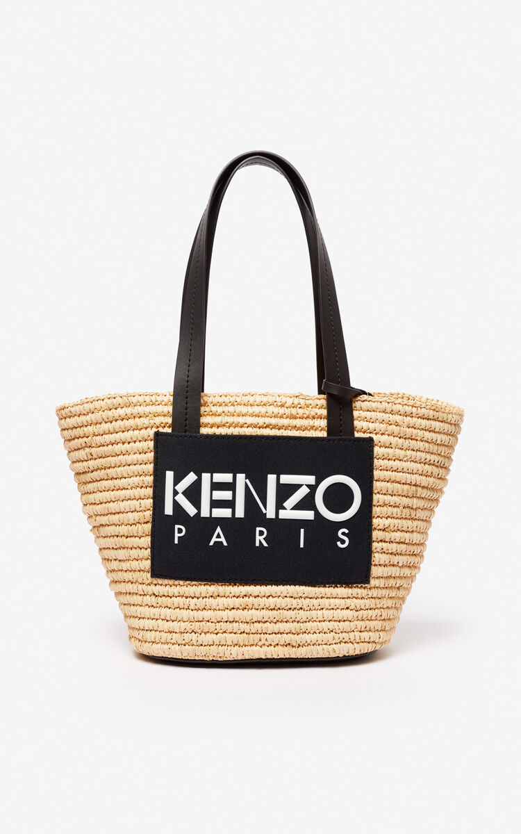 BLACK Summer basket for women KENZO