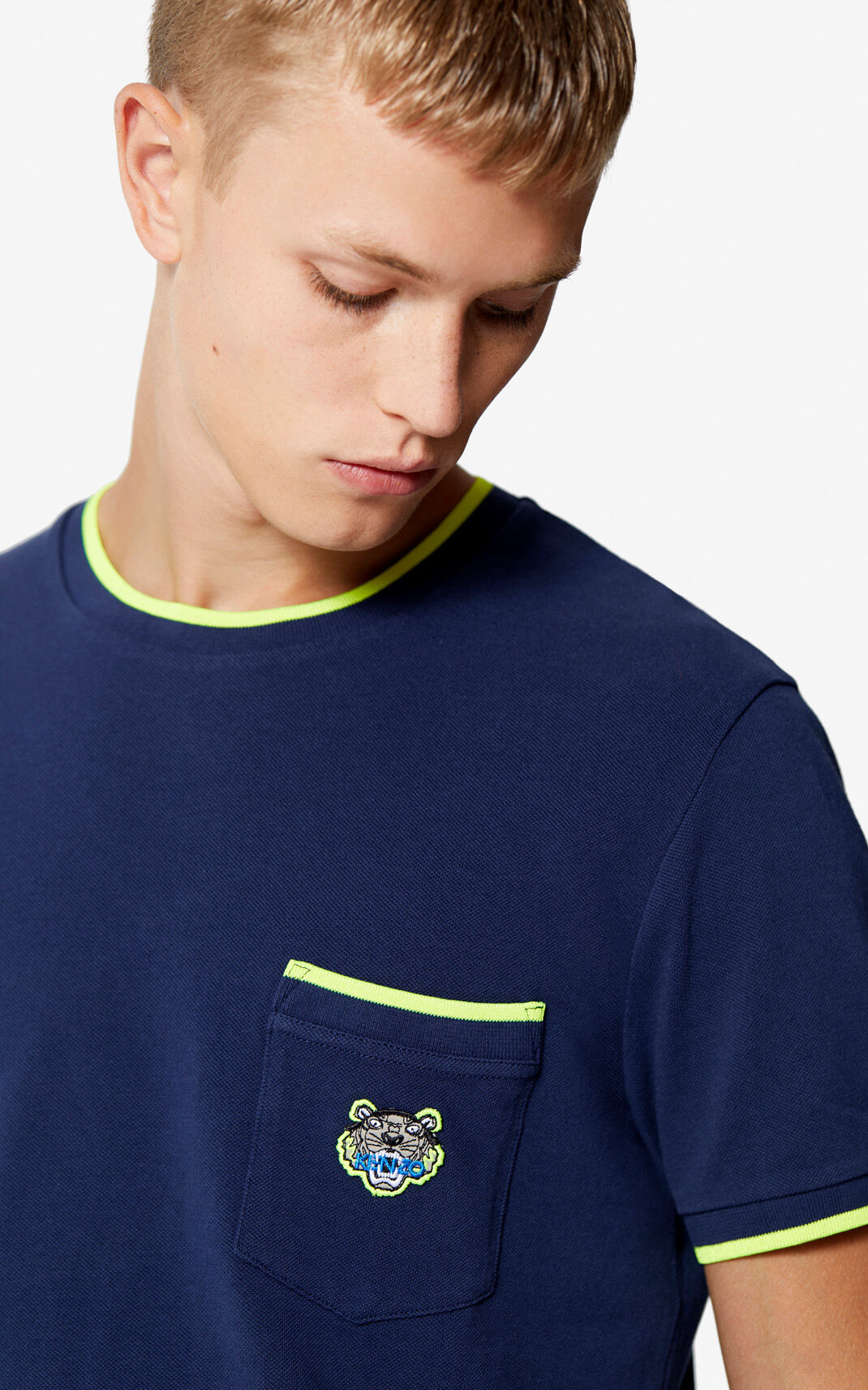 INK Tiger Pocket T-shirt for men KENZO