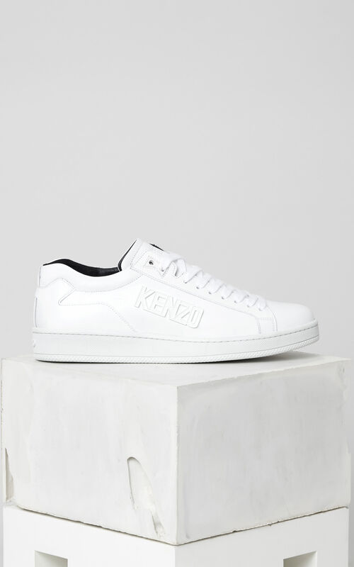 WHITE Tennix Sneaker for men KENZO