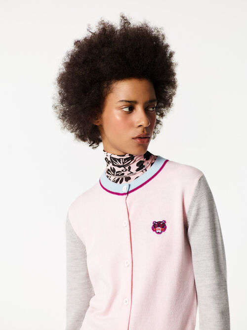 FADED PINK Tiger Cardigan for women KENZO