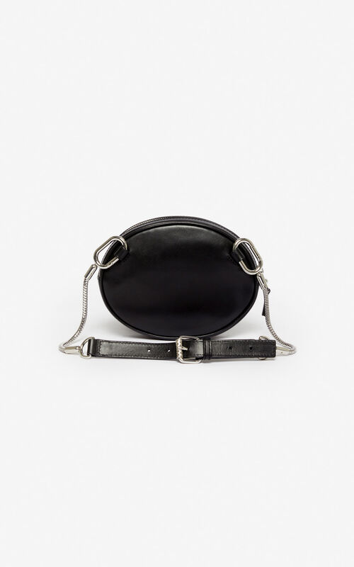 BLACK Kontact Eye belt bag for unisex KENZO