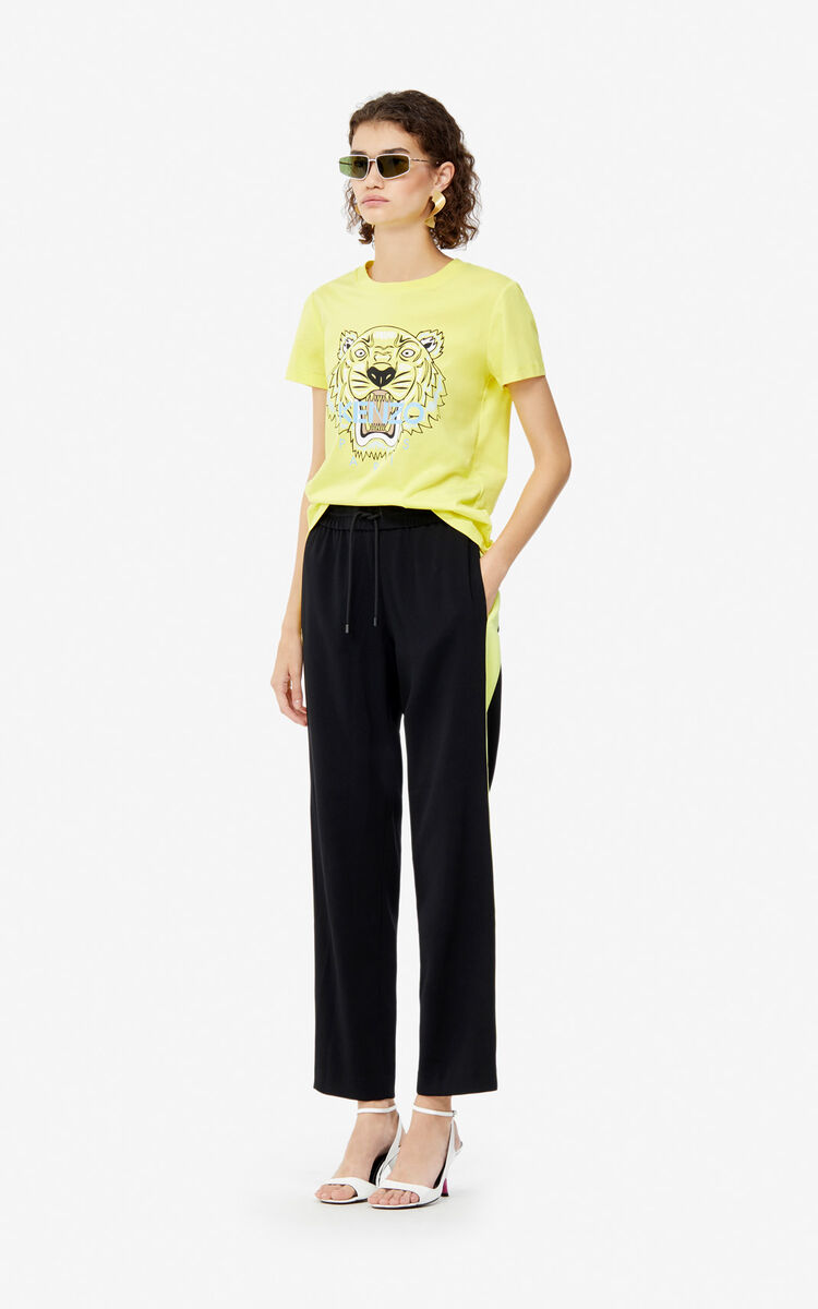 GOLDEN YELLOW T-Shirt Tiger für damen KENZO