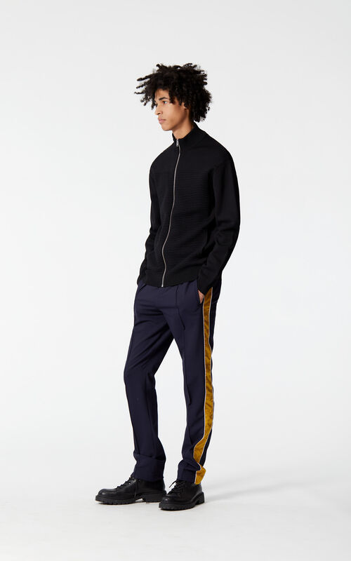 INK Dual-coloured trousers for men KENZO