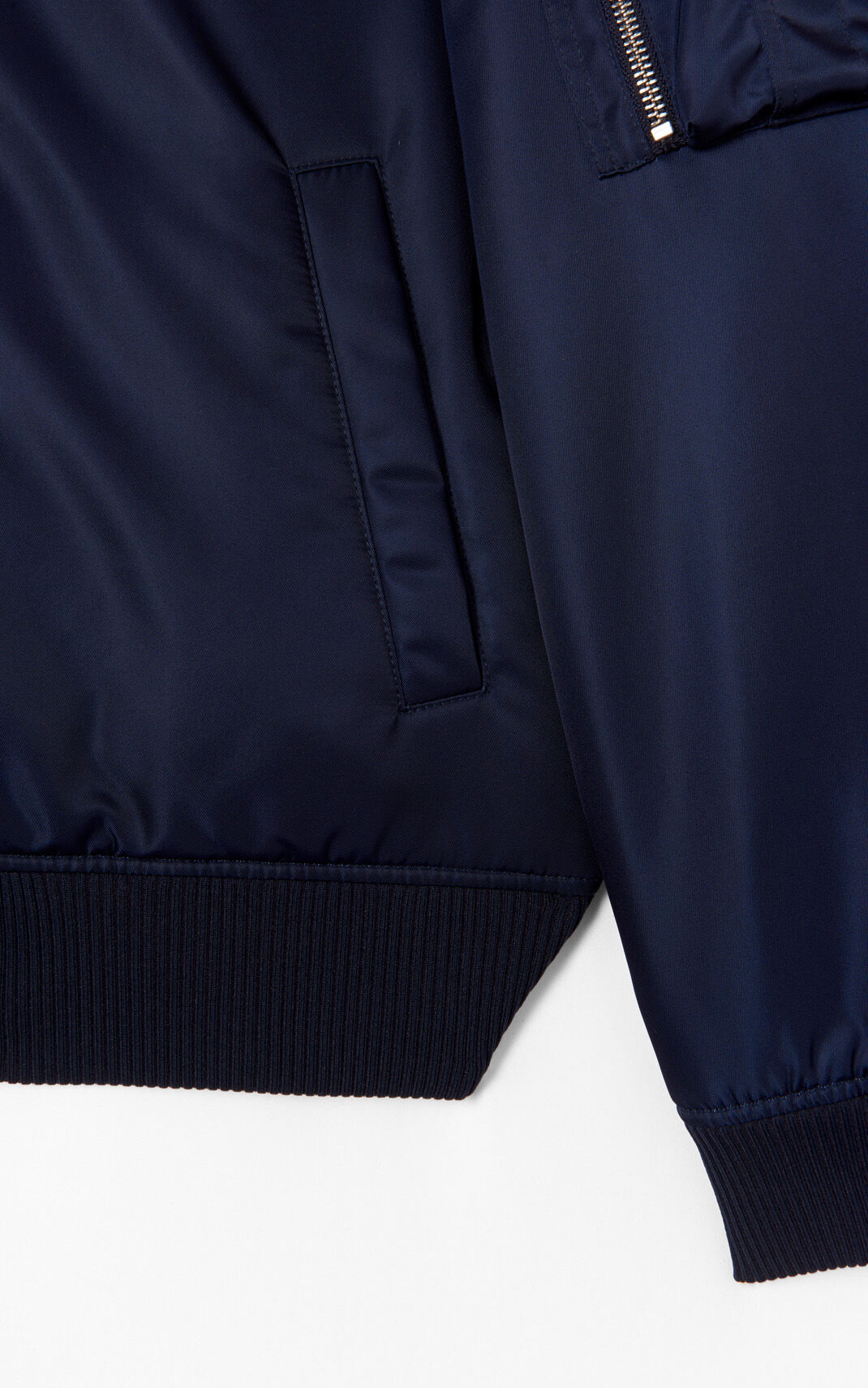 NAVY BLUE 'KENZO Signature' bomber jacket for men