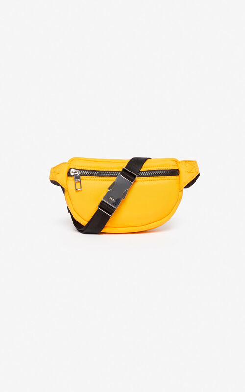 MARIGOLD Mini bumbag  with embroidered Tiger for unisex KENZO