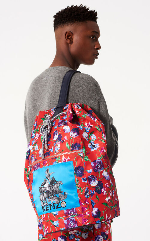 FIRE 'Wild Flowers' Backpack for women KENZO