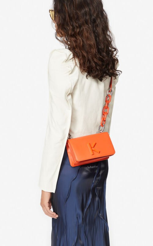 DEEP ORANGE Kandy bag   for women KENZO