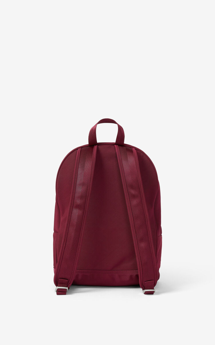 MAGENTA Canvas Kampus Tiger backpack for unisex KENZO