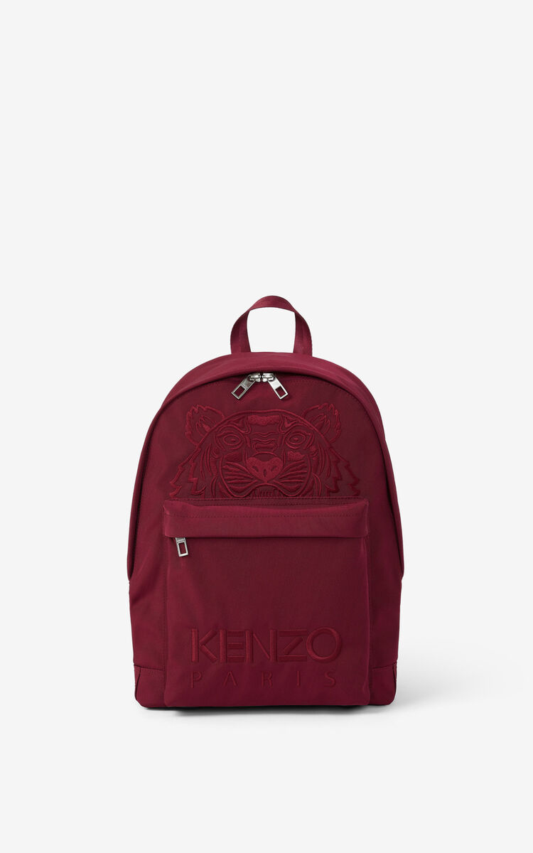 CARMINE Canvas Kampus Tiger backpack  for unisex KENZO