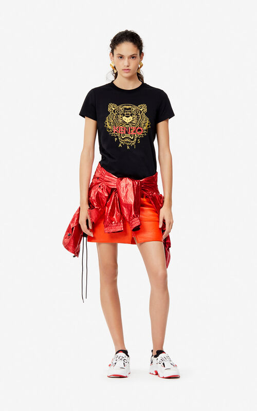 824363a85 ... BLACK Tiger t-shirt  Exclusive Capsule  for women KENZO