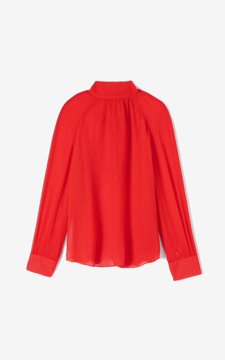 MEDIUM RED Fluid top for women KENZO