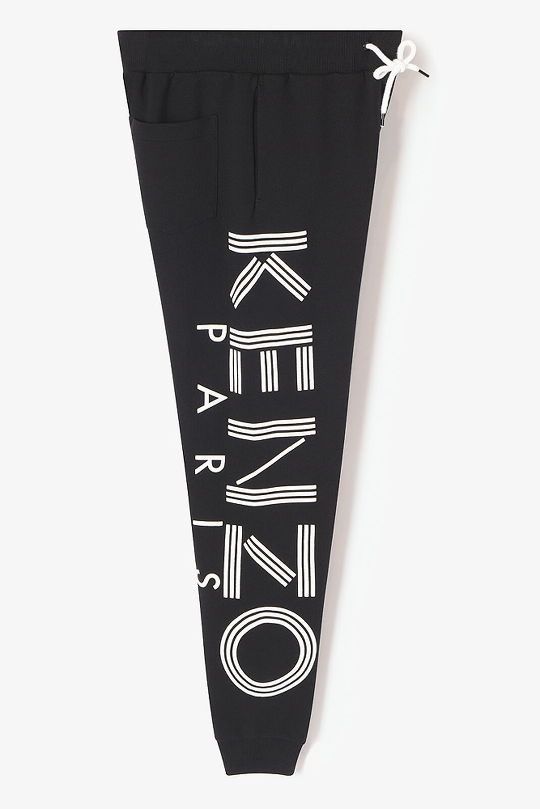 BLACK KENZO Logo Sweat Pants for women