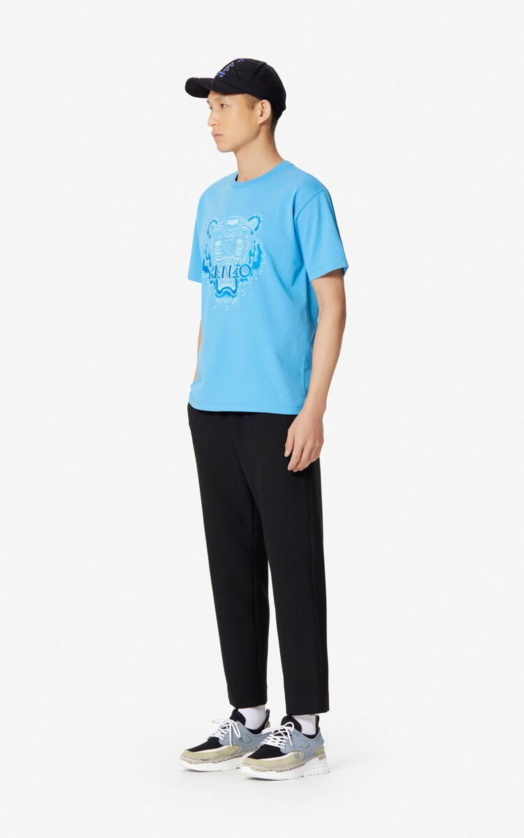 CYAN Tiger T-shirt for men KENZO