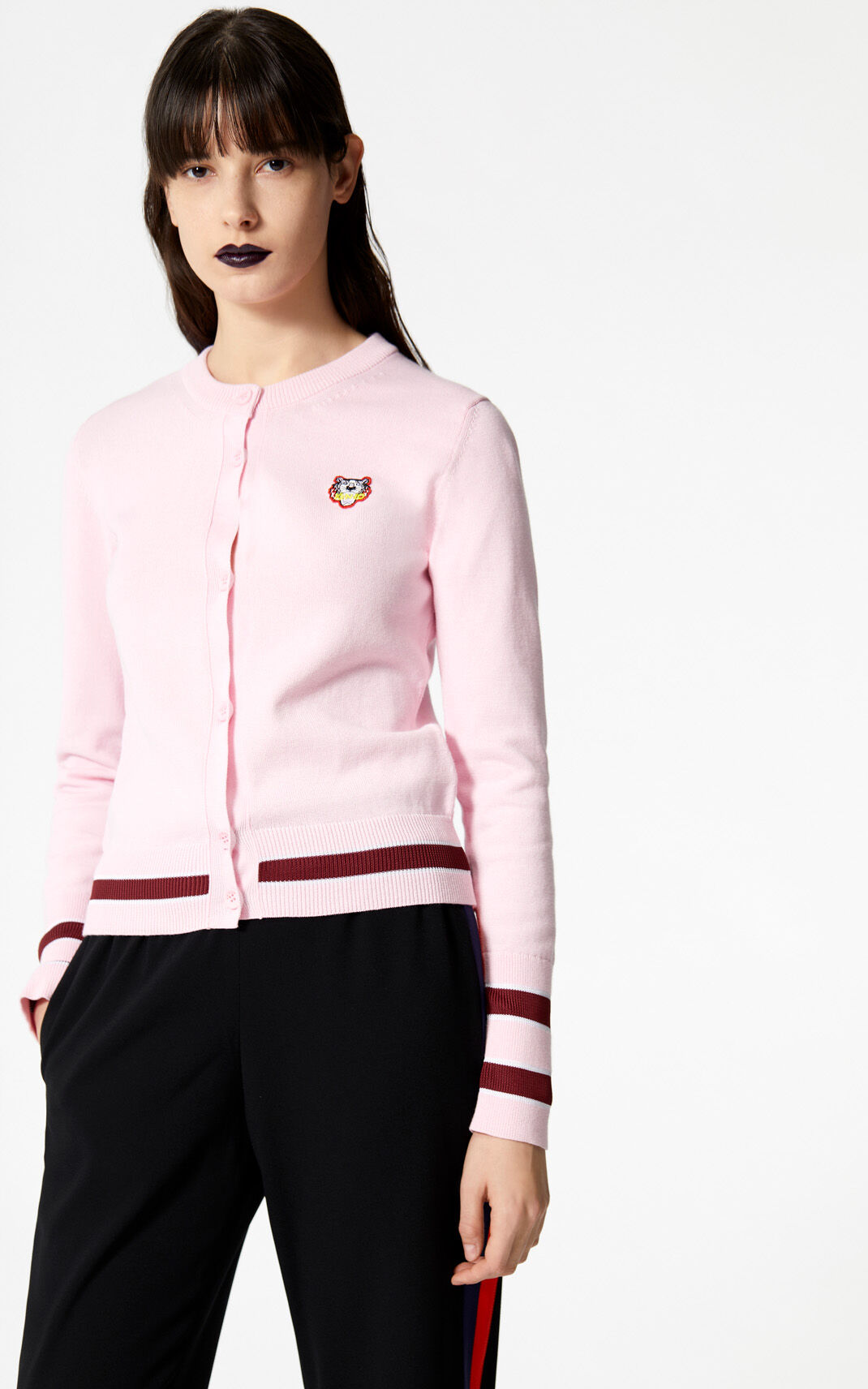 FLAMINGO PINK Tiger cardigan for women KENZO