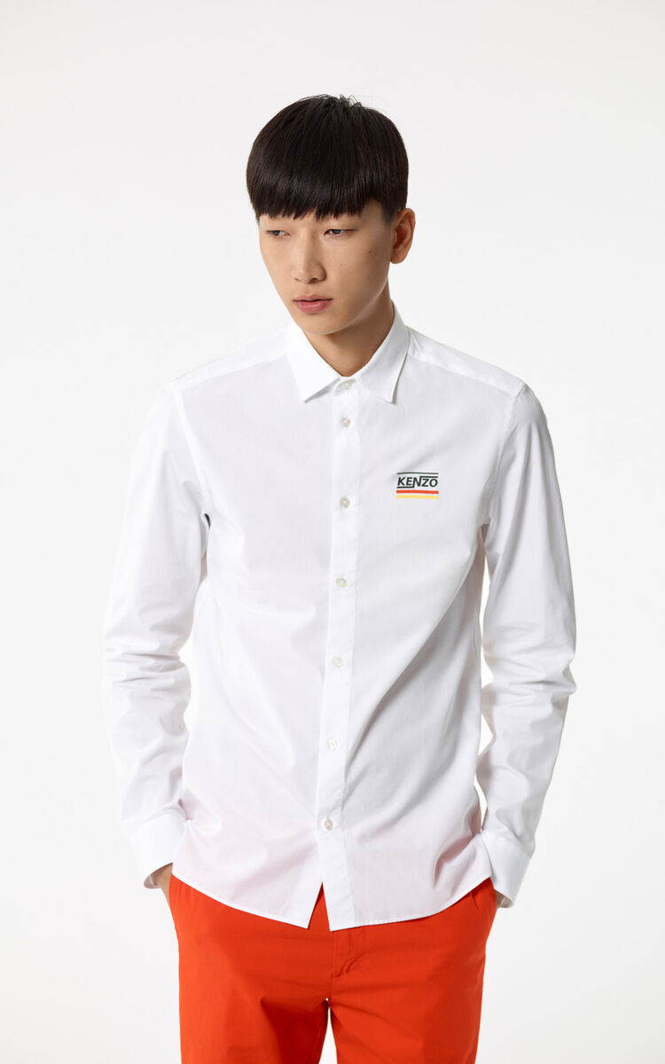 WHITE 'Dream' Shirt for men KENZO