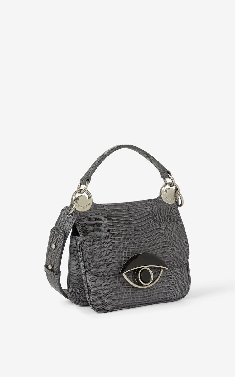 STONE GREY TALI leather handbag  for women KENZO