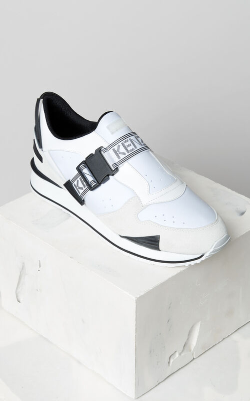 WHITE K-Run sneakers for women KENZO