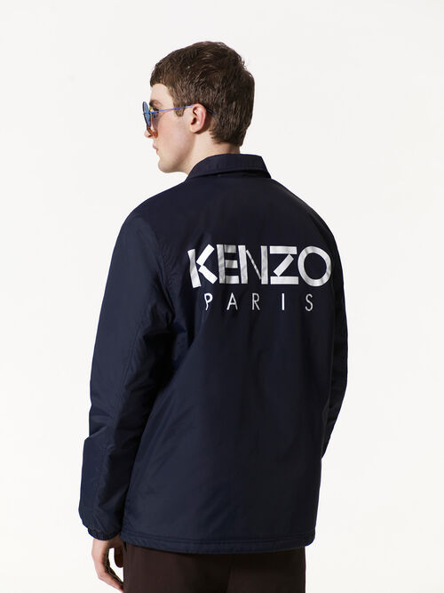 NAVY BLUE KENZO World Coach jacket for men