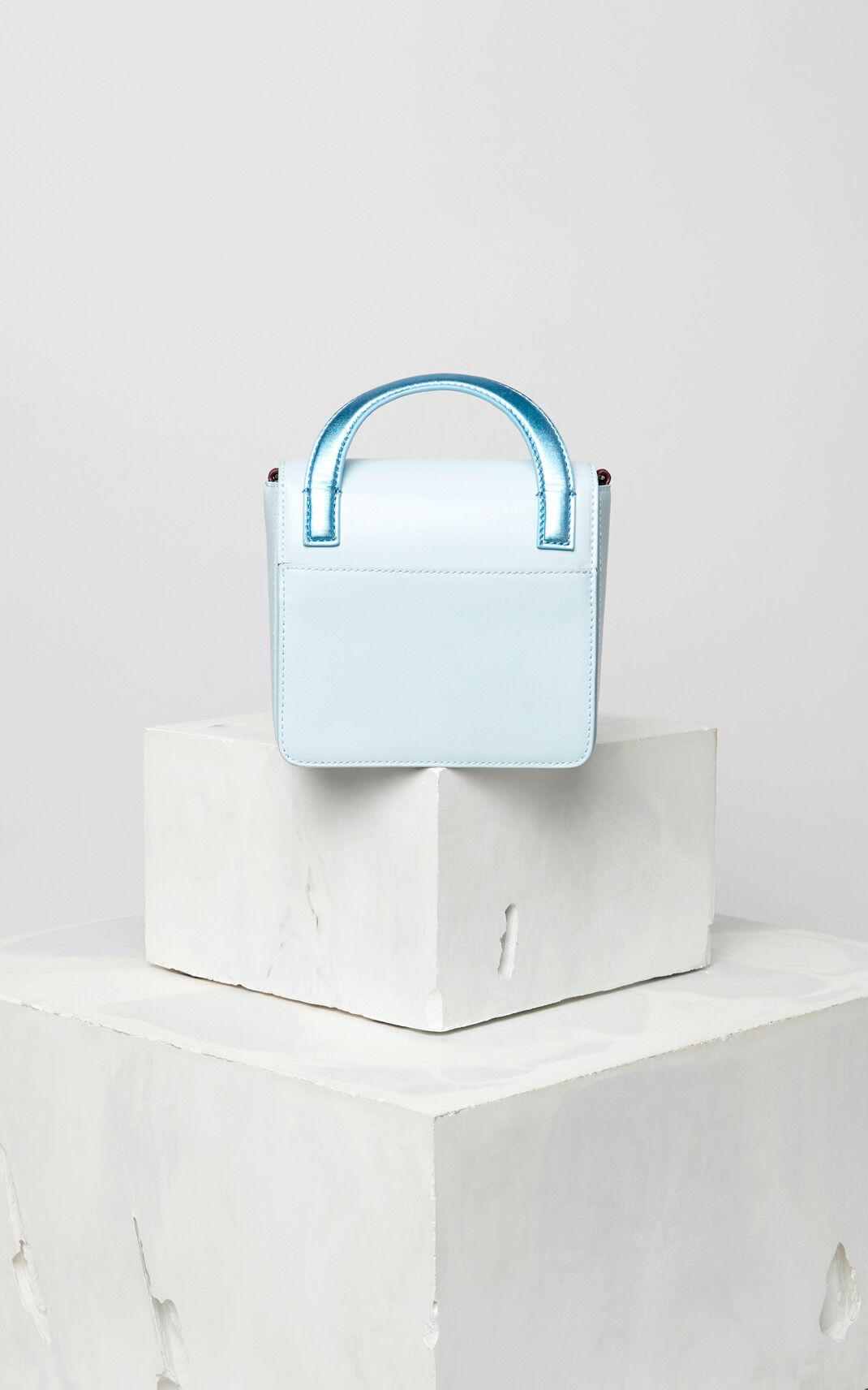 SKY BLUE Leather Sailor bag for women KENZO