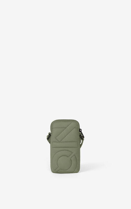 LIME TEA Arctic phone pouch with strap for unisex KENZO