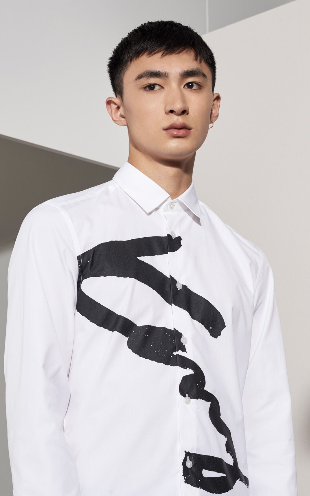 WHITE KENZO Signature Shirt for global.none