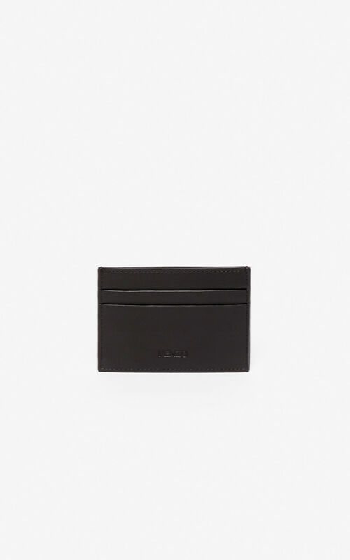 BLACK K-Bag card holder for unisex KENZO
