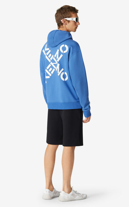 COBALT KENZO Sport 'Triple X' hoodie sweatshirt for men