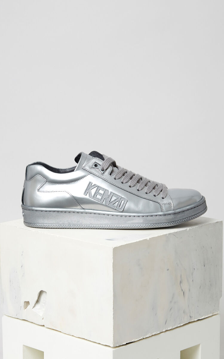 SILVER Silver Tennix Sneaker for men KENZO
