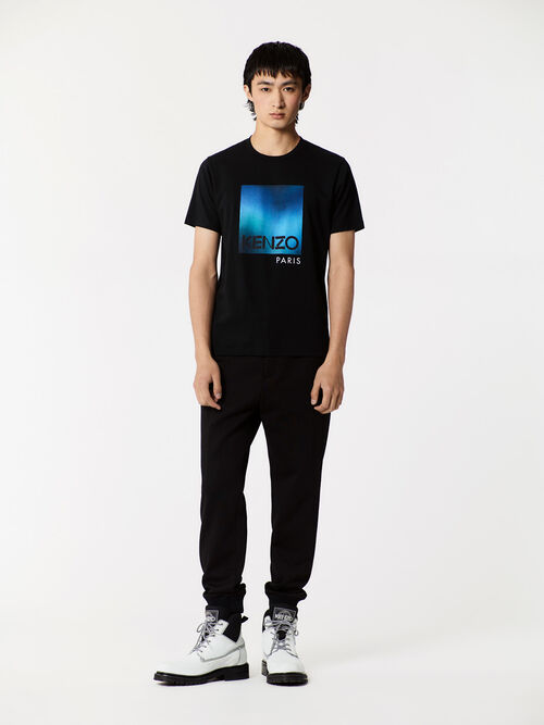 BLACK Northern Lights T-shirt for men KENZO